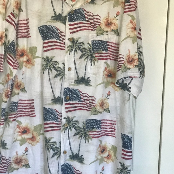 f50abfc869e Men s America Flag Aloha Shirt By Boca Classic XLT.  M 5b9800bad365be7e07394ffd